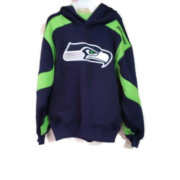 best service 6f789 55bec Seattle Seahawks boys hoodie sz 7 nfl kids youth